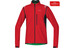 GORE BIKE WEAR Element WS AS Zip-Off Jacket Men red/black